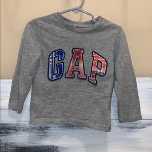 Toddler Boys Gap Long Sleeve Shirt